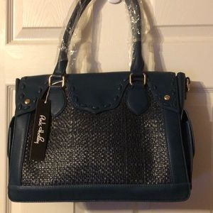 👜Classic Satchel Blue by Pink Haley